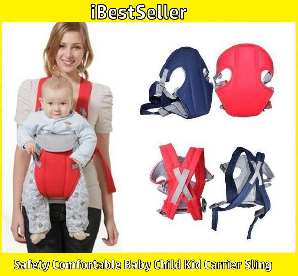 Safety Comfortable Baby Child Kid Carrier Sling (108) Seat Sleep
