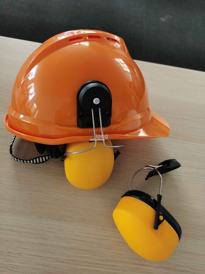 Safety Ear Muff - with helmet slot