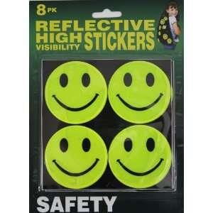 Safety High Visibility Reflective Stickers (8pcs)Diamension 70mm