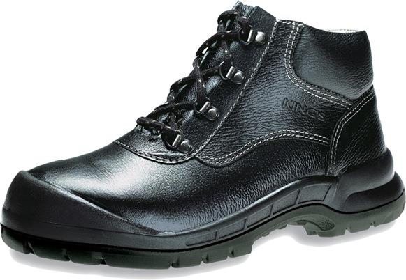 Safety Shoes King's Men Medium Cut Lace Up Black KWD901 ST Anti Static