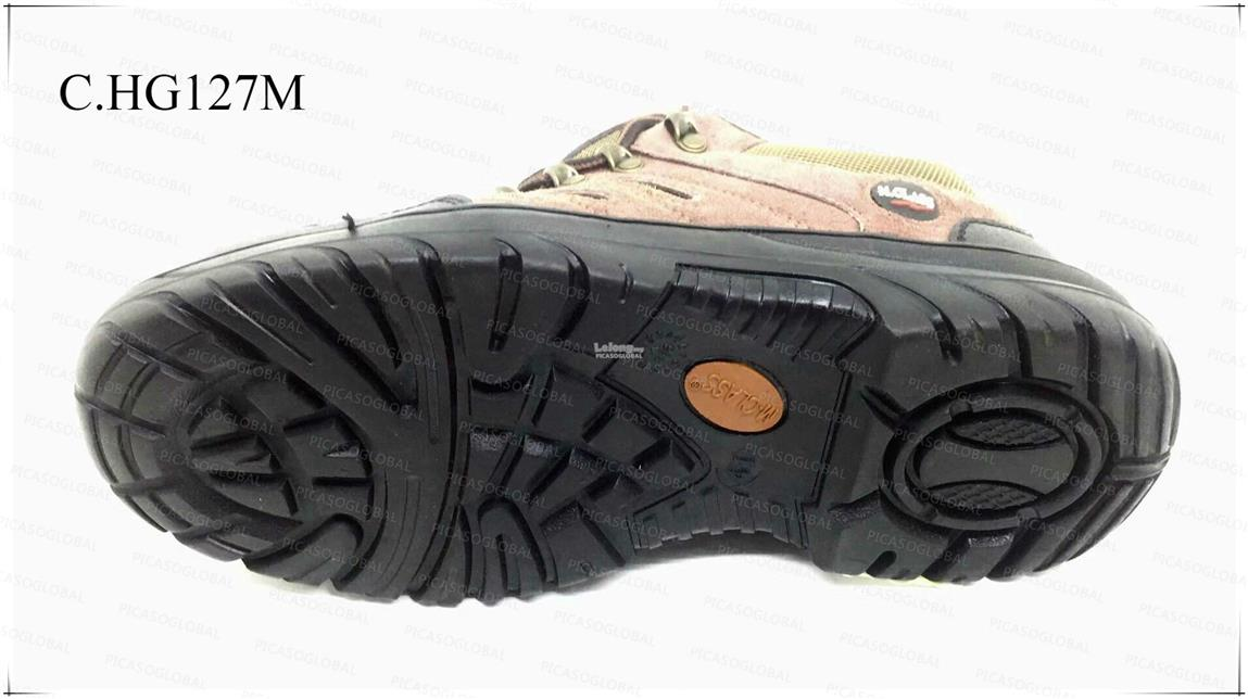 Safety Shoes [ Leather surface with Metal Toe Cap and Midplate ] COLOR