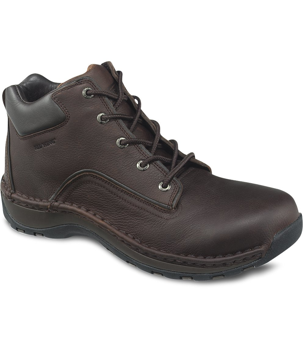 Safety Shoes Red Wing Men 6Inch Chukka Brown SD AT 6707