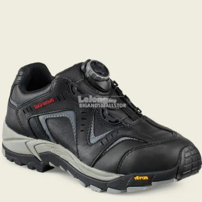 Safety Shoes Red Wing Men Athletic Black Lace EH ST 6640