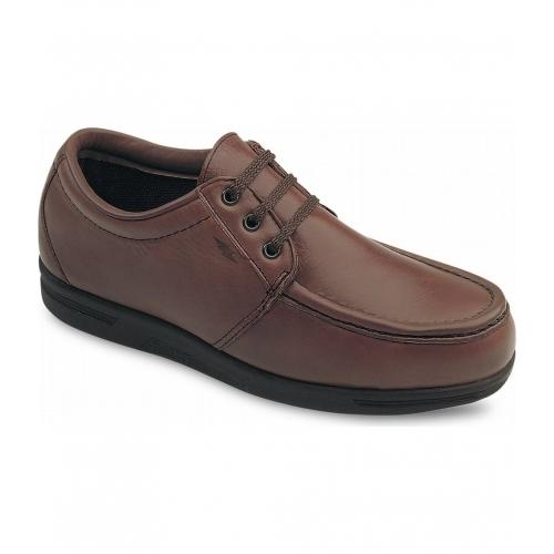 Safety Shoes Red Wing Men Low Cut Oxford Brown ST SD 6602