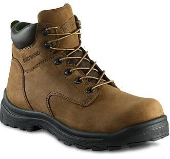 Safety Shoes Red Wing Men Medium Cut 6 Inch Brown NT PR ST 3246