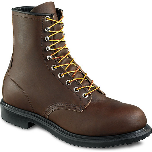 Safety Shoes Red Wing Men Medium Cut 8 Inch Brown EH ST 2233