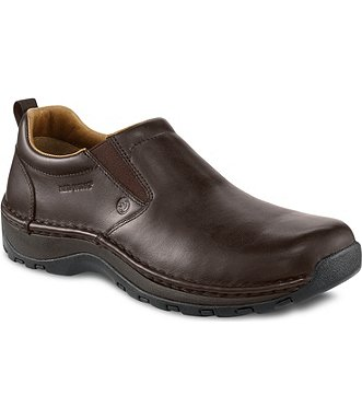 Safety Shoes Red Wing Men Slip On Brown AT SD 6702 FOC Delivery No GST