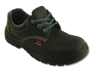 Safety Shoes Rhino Low Cut Lace Up Black PU3100 ST