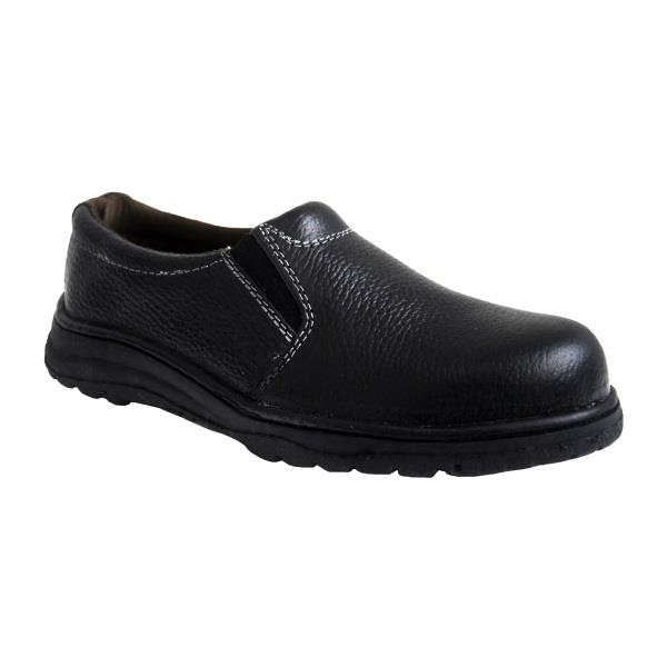 Safety Shoes Rhino Low Cut Slip On Black Women L3200SP ST