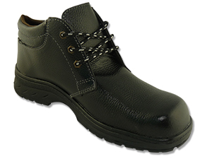 Safety Shoes Rhino Medium Cut 4Inches Lace Up Black C4100 ST Customize