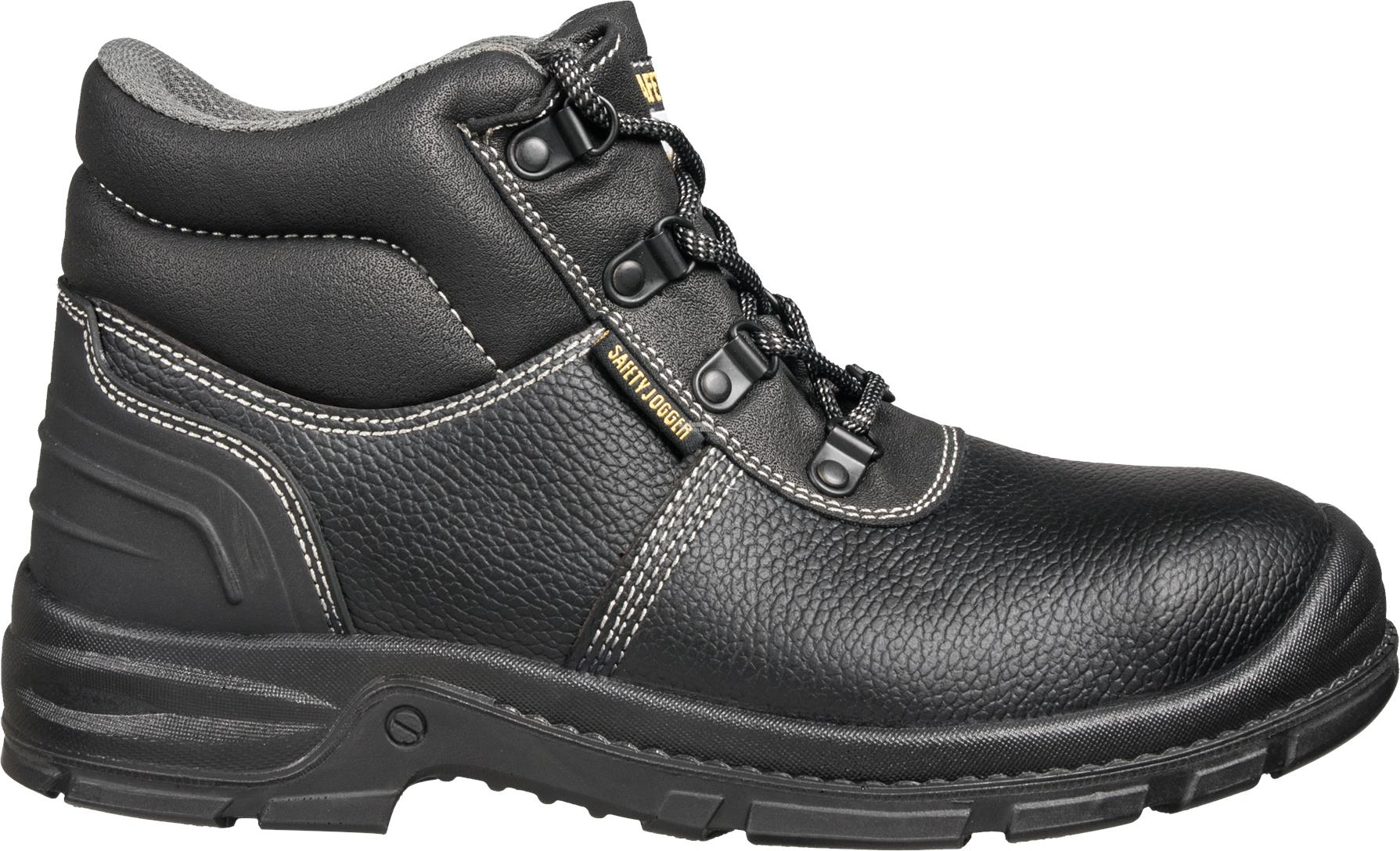 Safety Shoes Safety Jogger BestBoy2 Mid Black ST PU ZZ