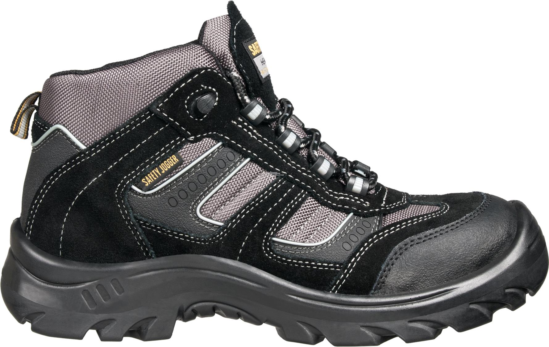 Safety Shoes Safety Jogger Climber Black CT PU Sports Mid ZZ