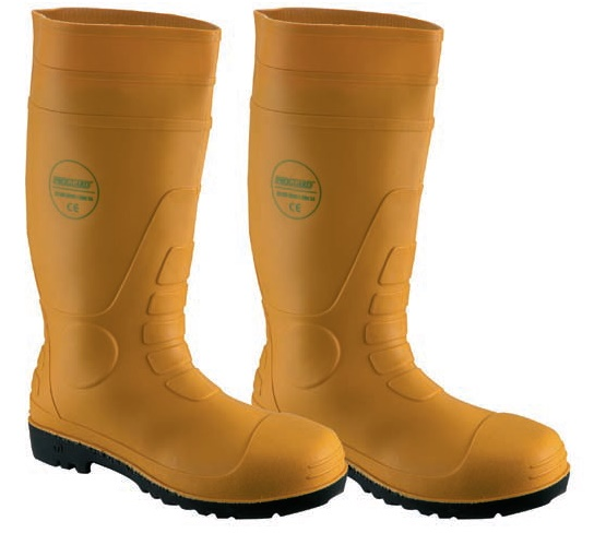 Safety Wellington Boots Yellow WP ST SMS R219MSTC