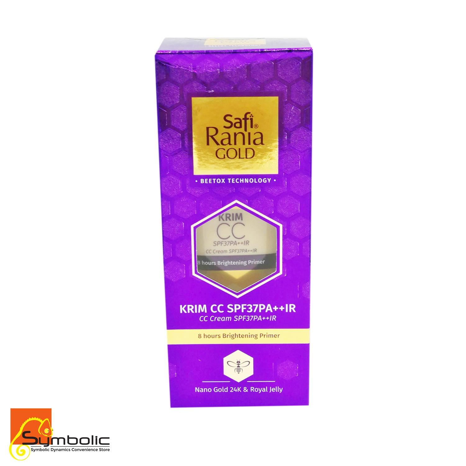 SAFI RANIA GOLD CC Cream SPF37PA++IR (Buy 3 Free Delivery)