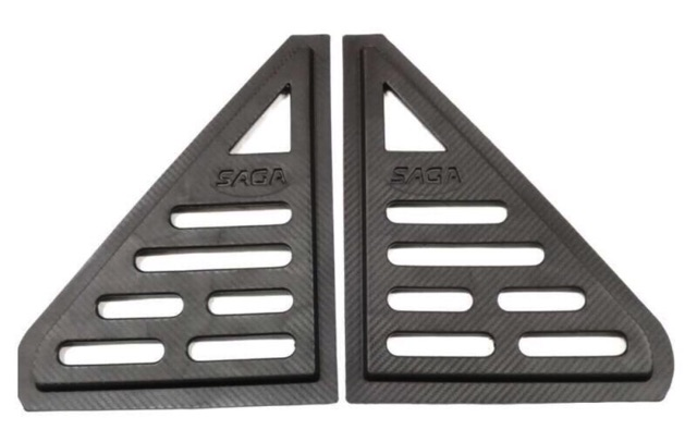 Saga Iswara Saga 2 Rear Side Triangle Window Cover