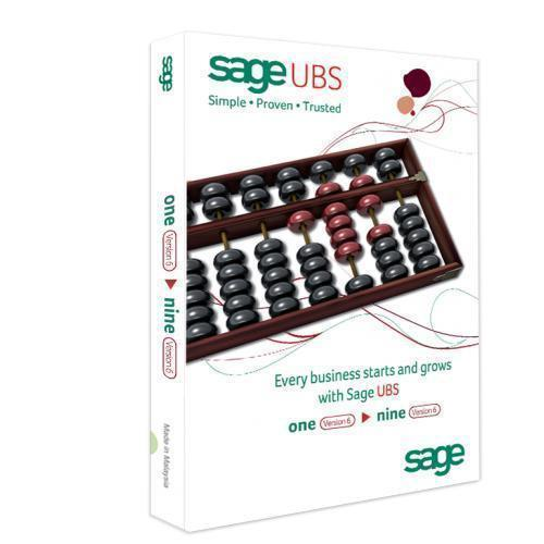 Sage UBS Accounting + Billings Software version 2016 - 3 Users
