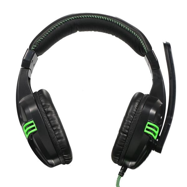Salar KX101 3.5mm Wired Gaming Headset HiFi Deep Bass Headphone