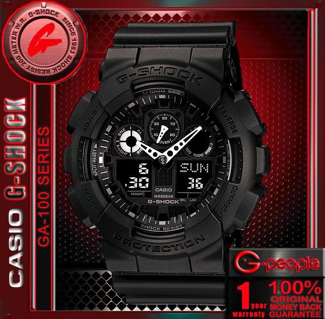 580b19e22cce SALE!!! CASIO G-SHOCK GA-100-1A1 A (end 12 17 2017 12 59 PM)