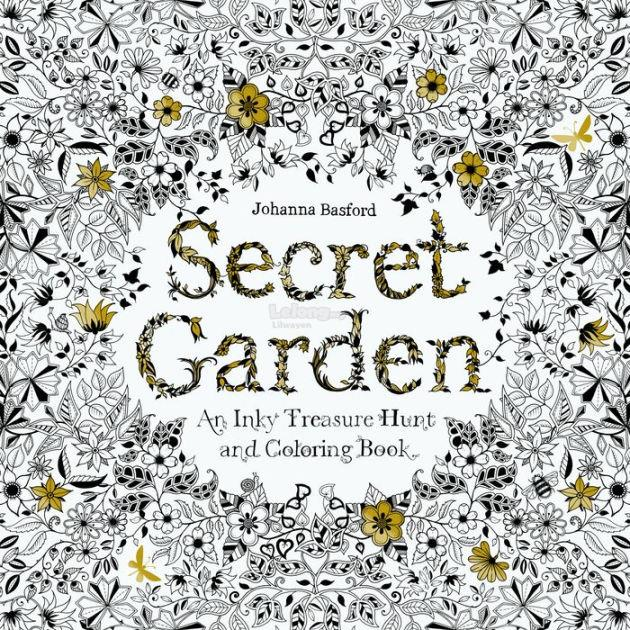 SALESecret Garden Adult Coloring Book ENGLISH READY STOCK