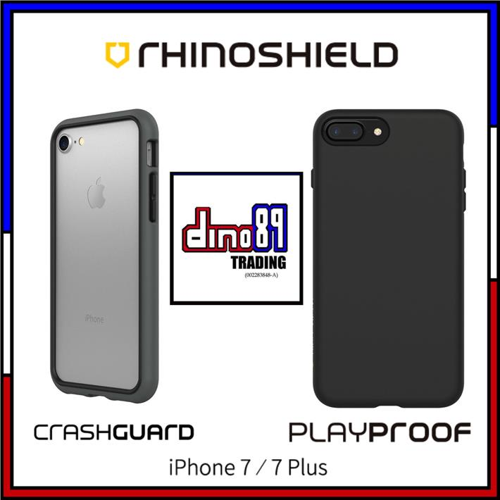 best sneakers 84660 e1ce5 [SALES] RHINOSHIELD Crashguard / Playproof iPhone 7 / 7 Plus Case