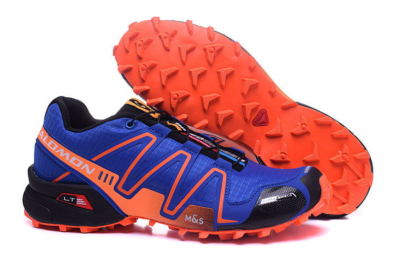 fbb13f58e6 SALOMON SPEEDCROSS 3 BLUE ORANGE (end 1 11 2021 12 00 AM)