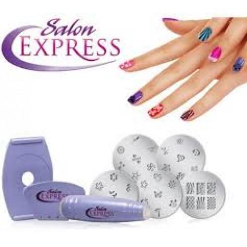 Salon Express Nail Art Stamping Kit End 432019 344 Pm