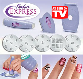 Salon Express Nail Art Stamping Kit End 332019 1246 Am