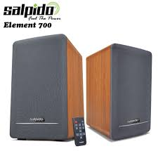 SALPIDO 2.1 ELEMENT 700 WOODEN SPEAKER