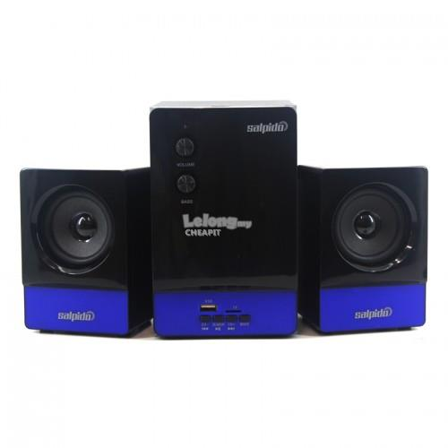 Salpido Caproni5U 2.1 Channel Multimedia Speaker-Black,Blue
