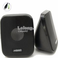 Salpido Macchi7 2.1 Channel Multimedia Mini Speaker-Black