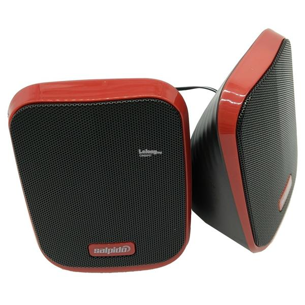 Salpido Macchi7 2.1 Channel Multimedia Mini Speaker-Red