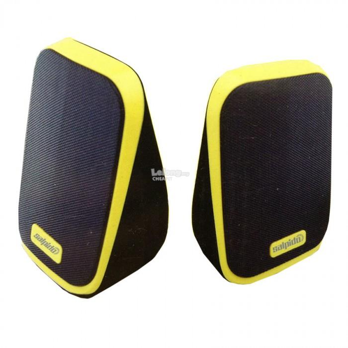 Salpido Macchi7 2.1 Channel Multimedia Mini Speaker-Yellow