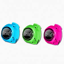 SALPIDO SMART WATCH GPS (TRAXXA520) GRN/BLUE/PINK