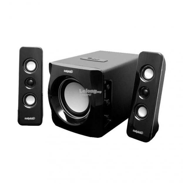Salpido TRON 101 2.1 Channel Multimedia Speaker-Black