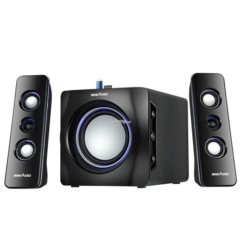 Salpido Tron 101U 2.1 Channel Multimedia Speaker-Black