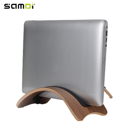 SAMDI Wooden Laptop Holder for Mac Air / Pro