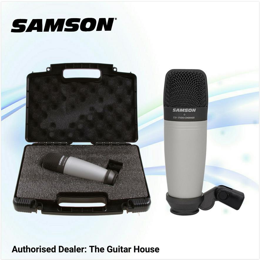 samson c01 condenser microphone end 6 11 2018 1 15 pm. Black Bedroom Furniture Sets. Home Design Ideas