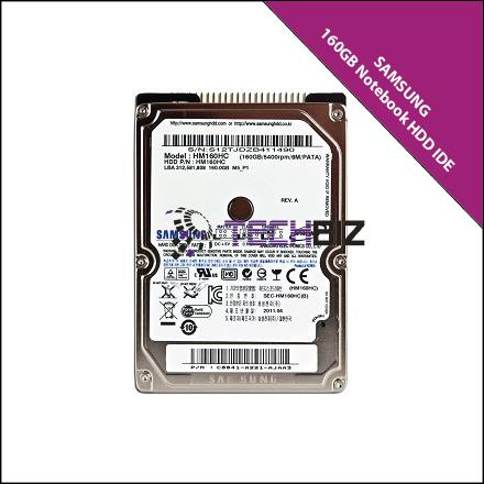 Samsung 160GB IDE Notebook Hard Disk Drive
