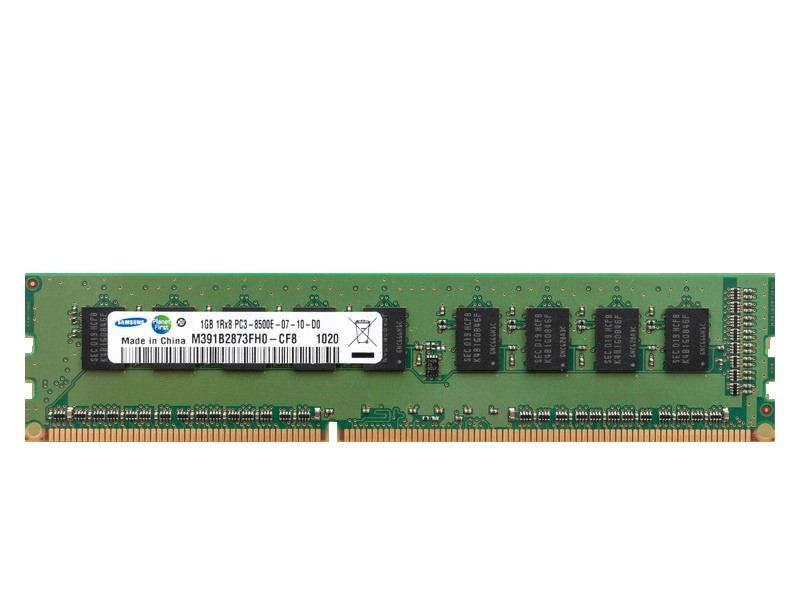 Samsung 1GB PC3 8500E DDR3 1066MHz ECC Server Desktop Memory RAM