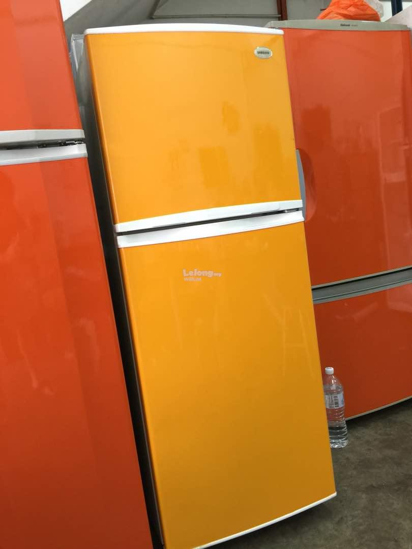 Samsung 2 doors Small Fridge Peti Sejuk Ais Refrigerator refurbished