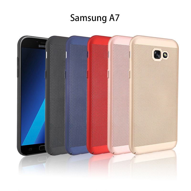 samsung 2017 A7 samsung A720 Cooling Hard Back Case Cover Casing