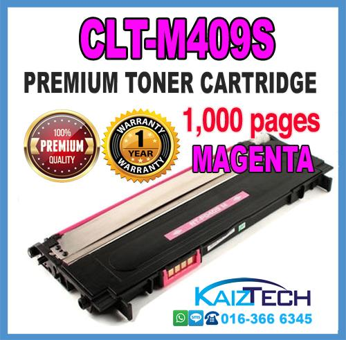 Samsung 409 / CLT-M409S Magenta Compatible High Quality Colour Laser Toner Car