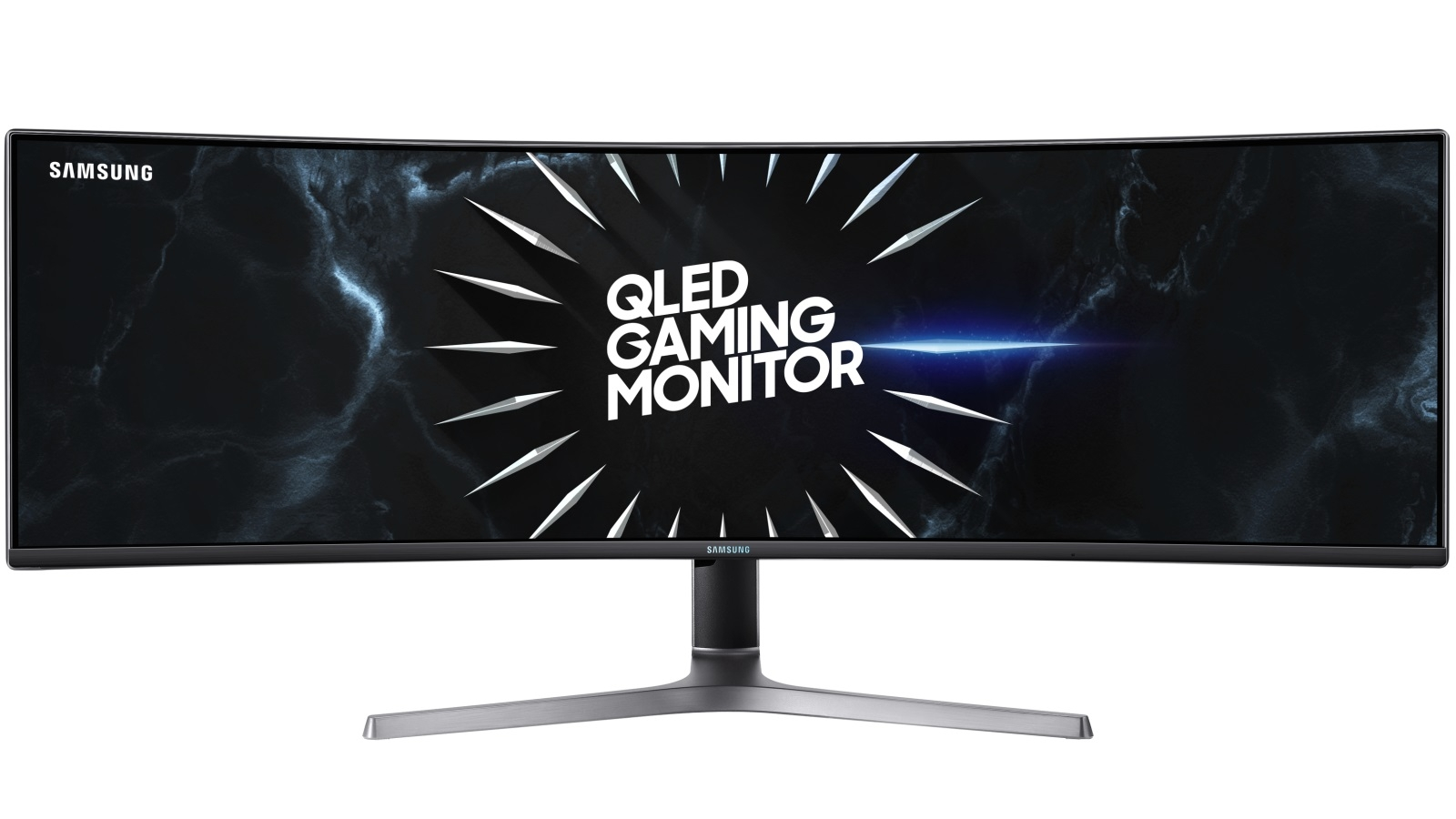 "SAMSUNG 49"" QLED CURVED GAMING MONITOR WITH DUAL QHD LC49RG90SSEXXM"