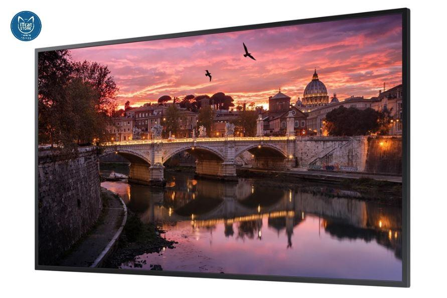 NEW SAMSUNG 55' 4K UHD SMART SIGNAGE 350nits/16HOURS/7DAYS (QB55R)