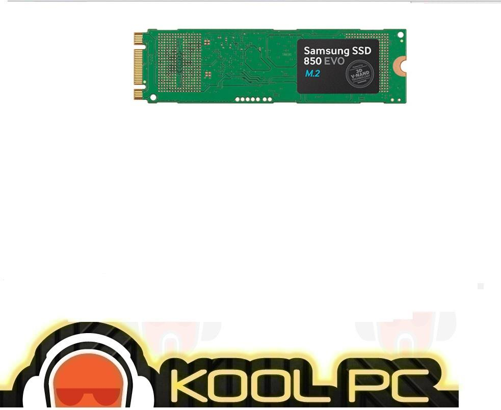 Samsung 850 EVO M.2 SSD - 250GB / 500GB / 1TB