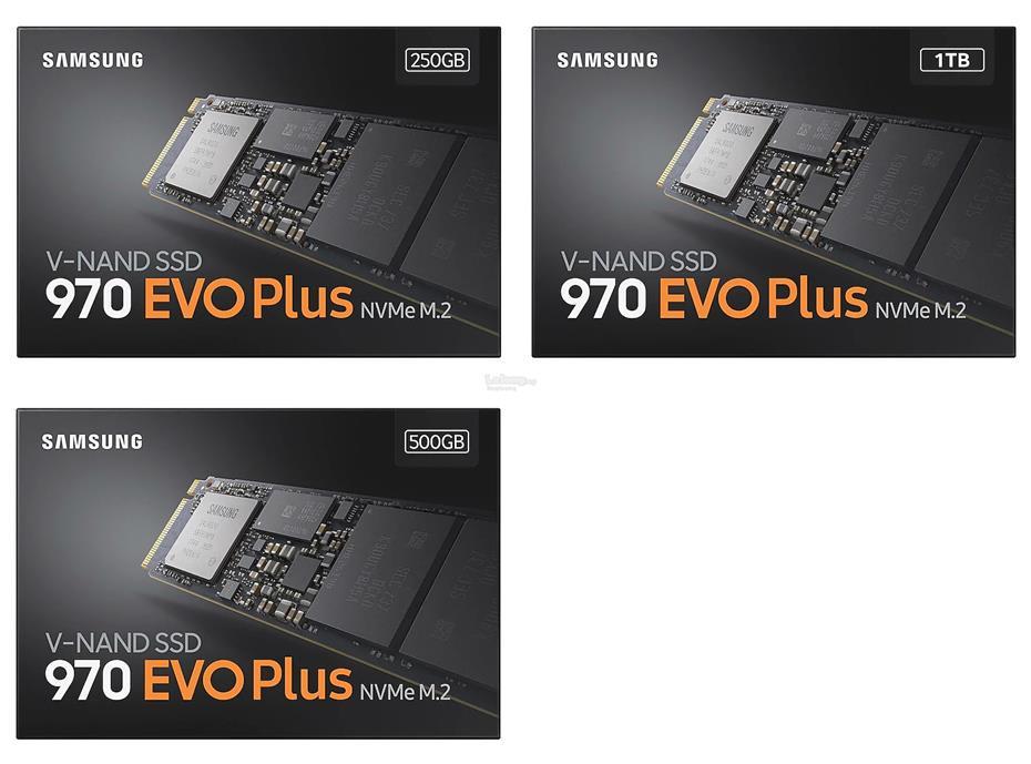# SAMSUNG 970 EVO Plus Series NVMe M 2 SSD # 250GB/500GB/1TB