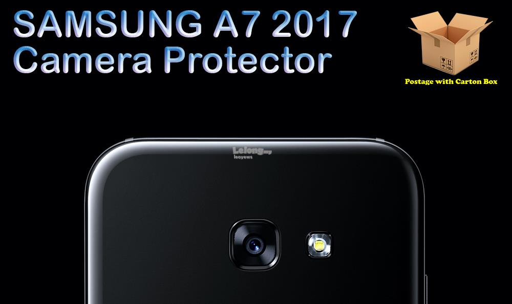 SAMSUNG A7 2017 Tempered Glass Camera Protector
