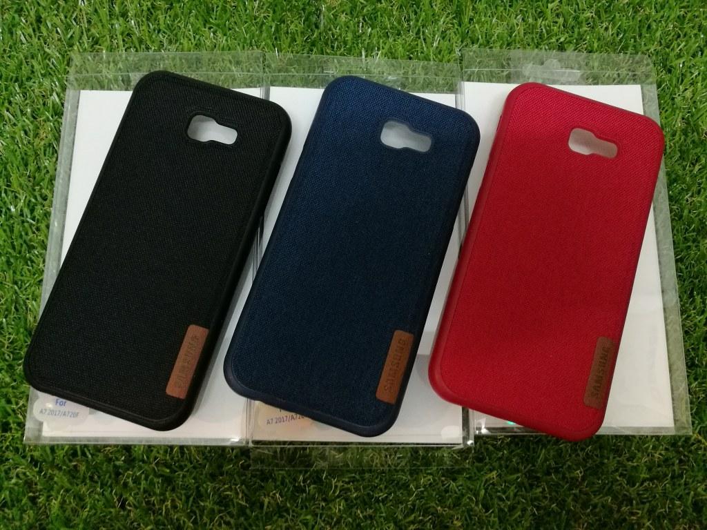 buy cheap 95061 3738f Samsung A7 A5 2017 J7 J5 prime Jeans tpu premium silicon back case