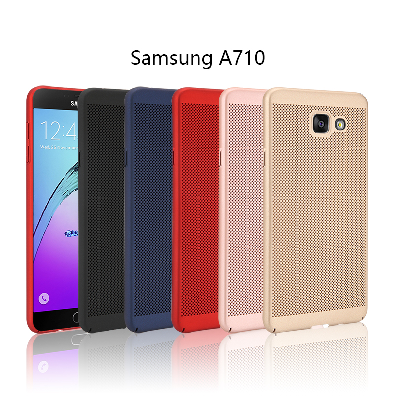 samsung A7100 samsung A7 2016 Cooling Hard Back Case Cover Casing