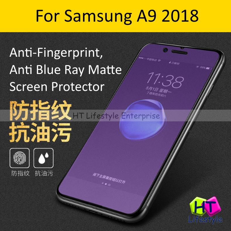 Samsung A9 2018 Anti-Fingerprint/Glare/Blue Ray Screen Protector